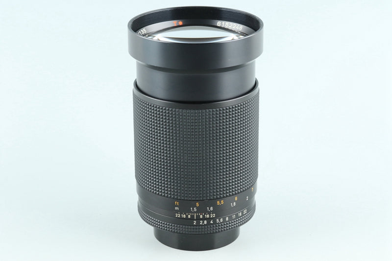 Contax Carl Zeiss Planar T* 135mm F/2 AEG Lens for CY Mount #26970A2
