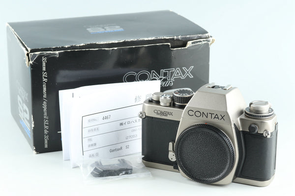 Contax S2 60 Years Model 35mm SLR Film Camera #27053L8