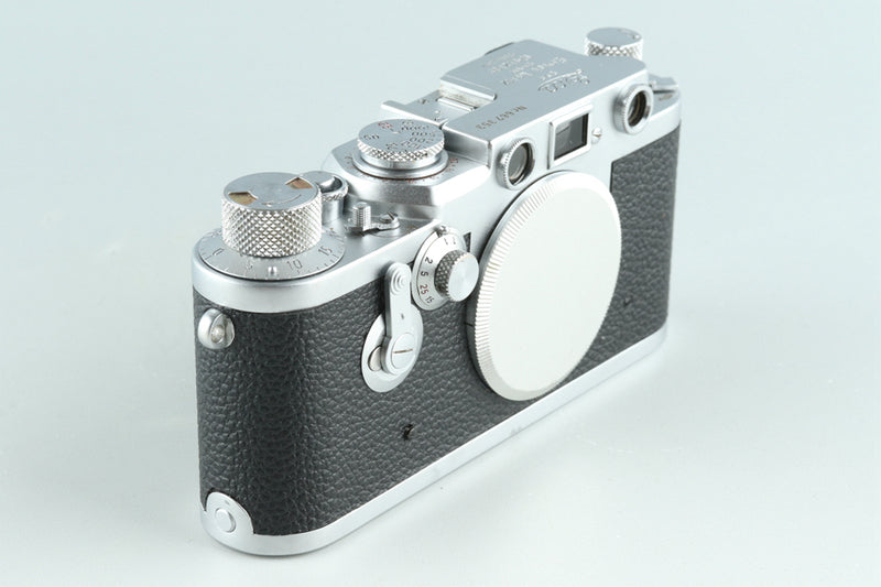 Leica Leitz IIIf 35mm Rangefinder Film Camera #27061D2