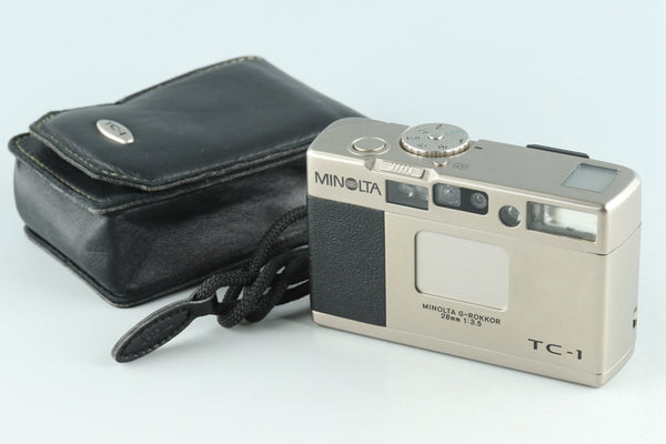 Minolta TC-1 35mm Point & Shoot Film Camera #27065D3
