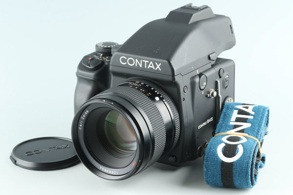Contax 645 Medium Format Film Camera + 80mm F/2 Lens + MF-1 + MFB-1 #27083E2