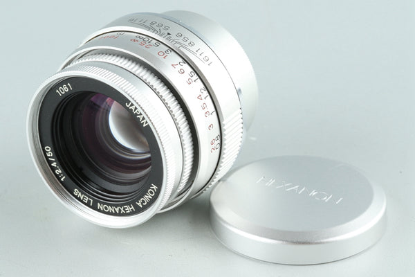 Konica Hexanon 50mm F/2.4 Lens for Leica L39 #27102C1