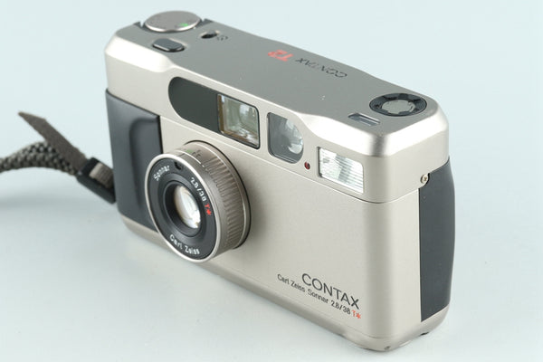 Contax T2 35mm Point & Shoot Film Camera With Box #27139