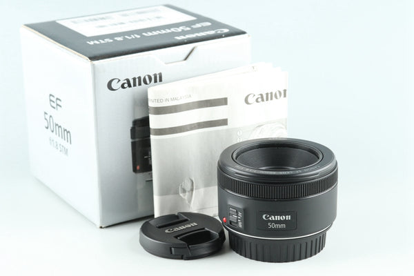 Canon EF 50mm F/1.8 STM Lens With Box #27145