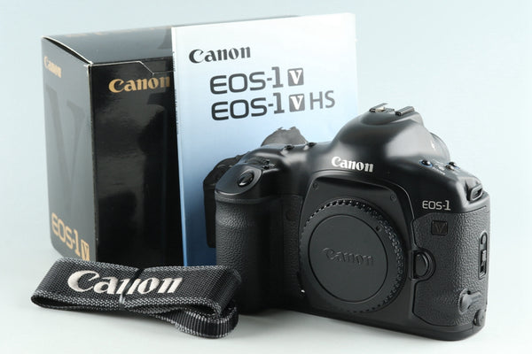 Canon EOS 1V 35mm SLR Film Camera With Box #27193