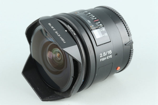 Sony 16mm F/2.8 Fish-eye Lens for for Sony AF #27241F4