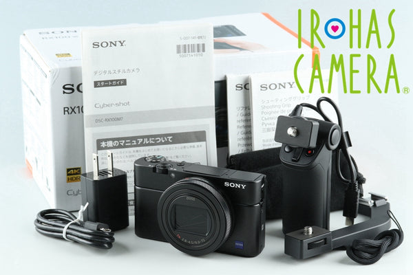 Sony Cyber-Shot DSC-RX100M7 Digital Camera With Box *JP Language Only* #27260