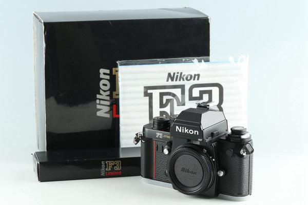Nikon F3 HP Limited 35mm SLR Film Camera With Box #27281