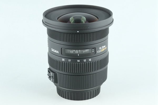 Sigma EX 10-20mm F/3.5 DC HSM Lens for Canon #27313H3