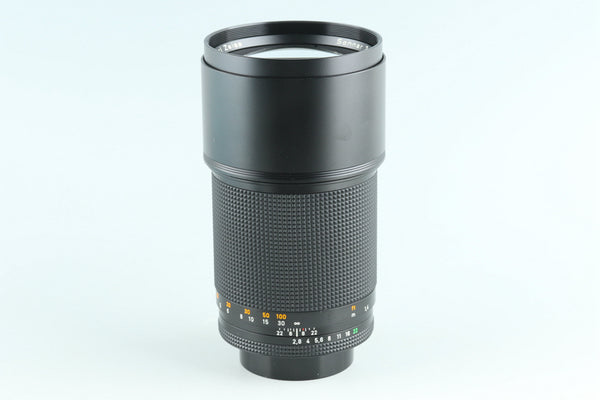 Contax Carl Zeiss Sonnar T* 180mm F/2.8 MMJ Lens for CY Mount #27330A2