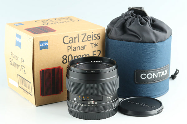 Contax Carl Zeiss Planar T* 80mm F/2 Lens for Contax 645 With Box #27353