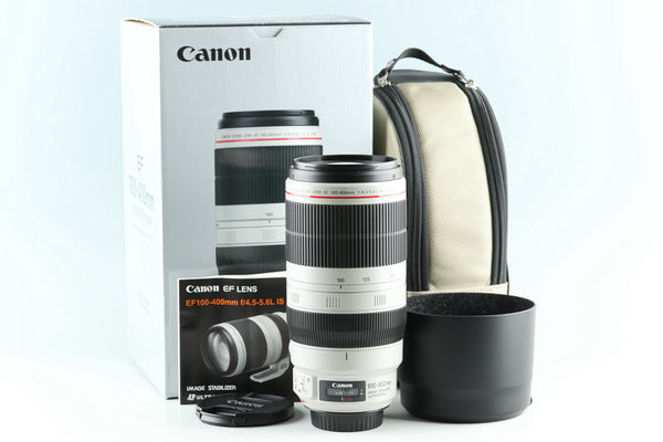 Canon EF 100-400mm F/4.5-5.6 L IS II USM Lens With Box #27355