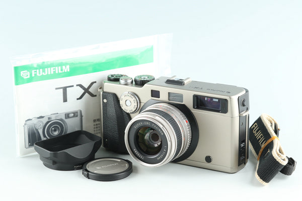 Fujifilm TX-1 35mm Rangefinder Film Camera + 45mm F/4 Lens *Shutter Count 025* #27362E4