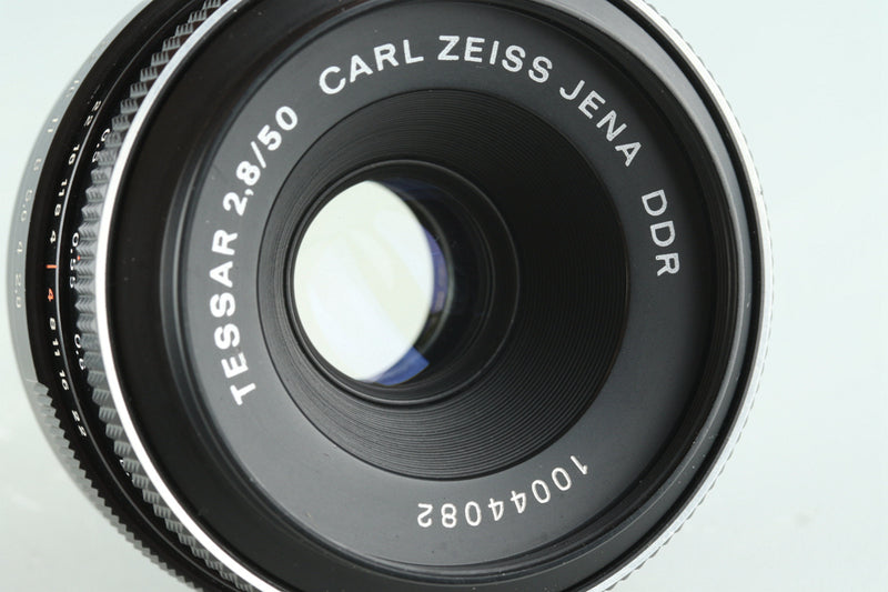 Carl Zeiss Jena DDR Tessar 50mm F/2.8 Lens for M42 Mount #27373F4