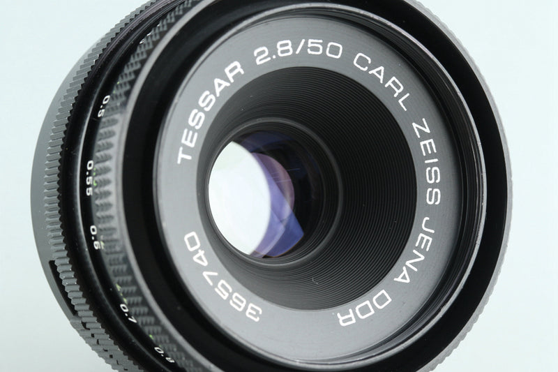 Carl Zeiss Jena DDR Tessar 50mm F/2.8 Lens for M42 Mount #27374H1