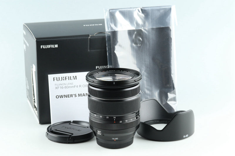 Fujifilm XF 16-80mm F/4 R OIS WR Lens With Box #27382
