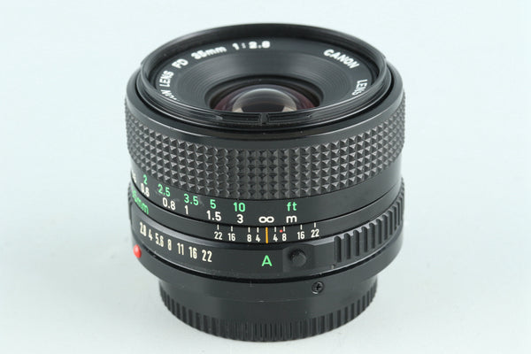Canon FD 35mm F/2.8 Lens #27387H1