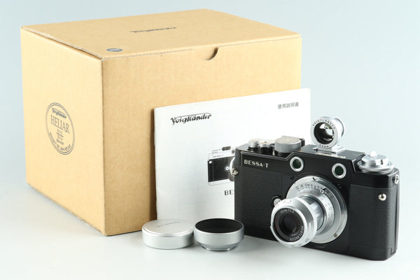 Voigtlander Bessa-T Heliar 101 Years Model + 50mm F/3.5 Lens With Box #27438F2