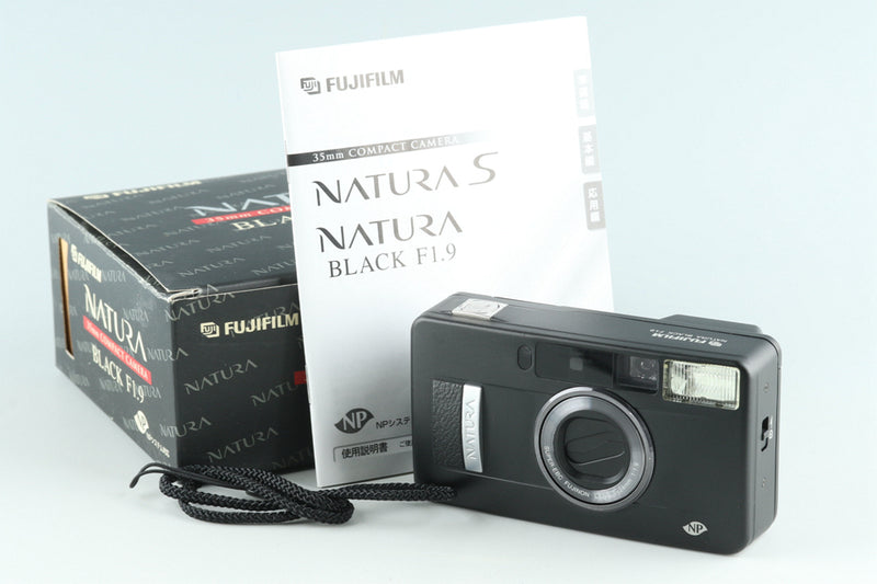 Fujifilm Natura Black F/1.9 35mm Point & Shoot Film Camera #27455