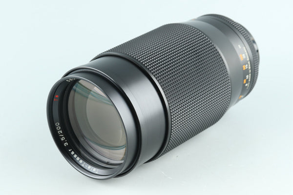 Contax Carl Zeiss Tele-Tessar T* 200mm F/3.5 AEG Lens for CY Mount #27460A1