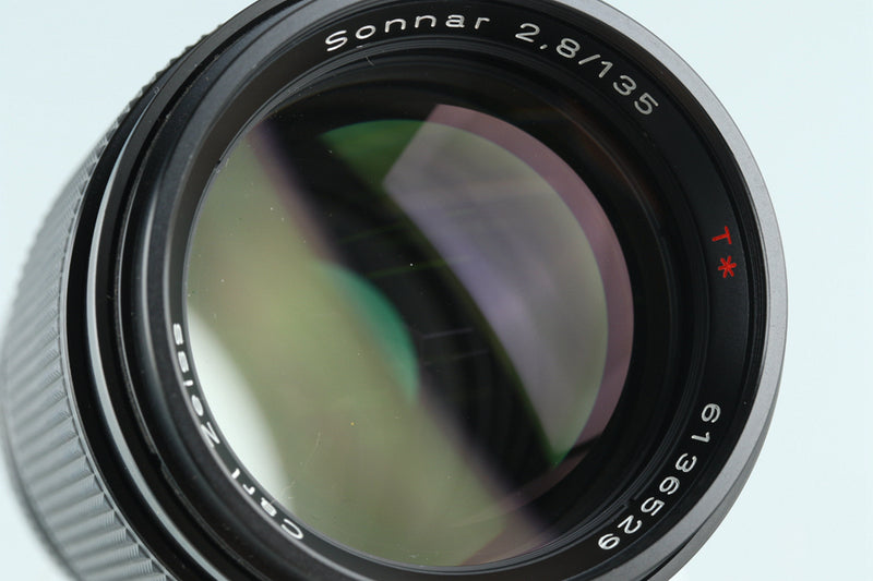 Contax Carl Zeiss Sonnar T* 135mm F/2.8 AEJ Lens for CY Mount #27475A2