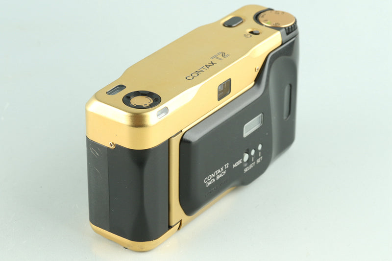 Contax T2 Gold 60 Years 35mm Point & Shoot Film Camera With Box #27538L8