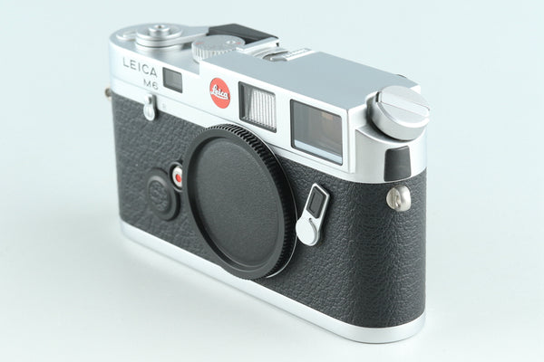 Leica M6 0.72 35mm Rangefinder Film Camera In Silver With Box #27554