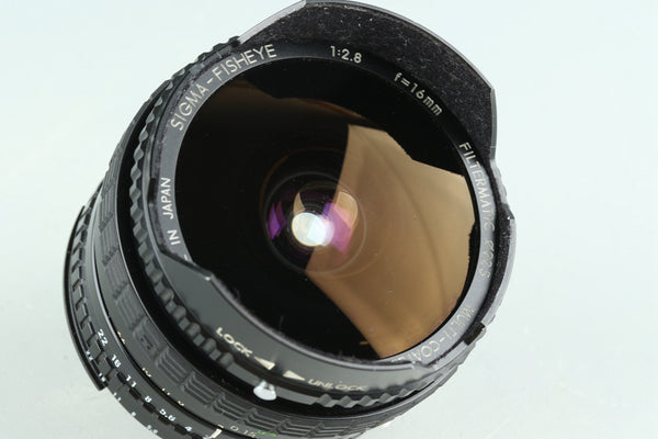 Sigma Fisheye 16mm F/2.8 Lens for Nikon #27576F4