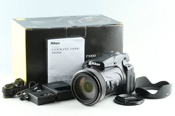 Nikon COOLPIX P1000 Digital Camera With Box #27677