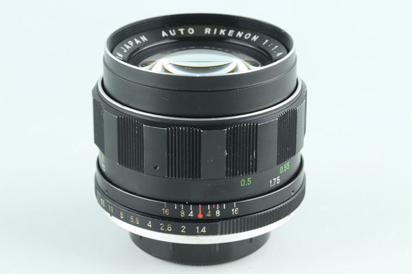 Ricoh Auto Rikenon 55mm F/1.4 Lens for M42 Mount #27683A3