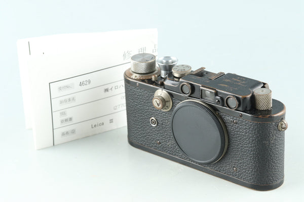 Leica Leitz DIII 35mm Rangefinder Film Camera #27708D1