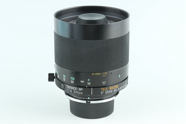 Tamron SP 500mm F/8 Tele Macro BBAR MC Lens for Nikon #27713G2