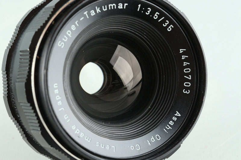 Asahi Pentax Super-Takumar 35mm F/3.5 Lens for M42 Mount #27719C3