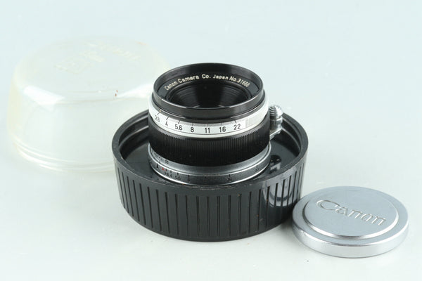 Canon 35mm F/2.8 Lens for Leica L39 #27725C2