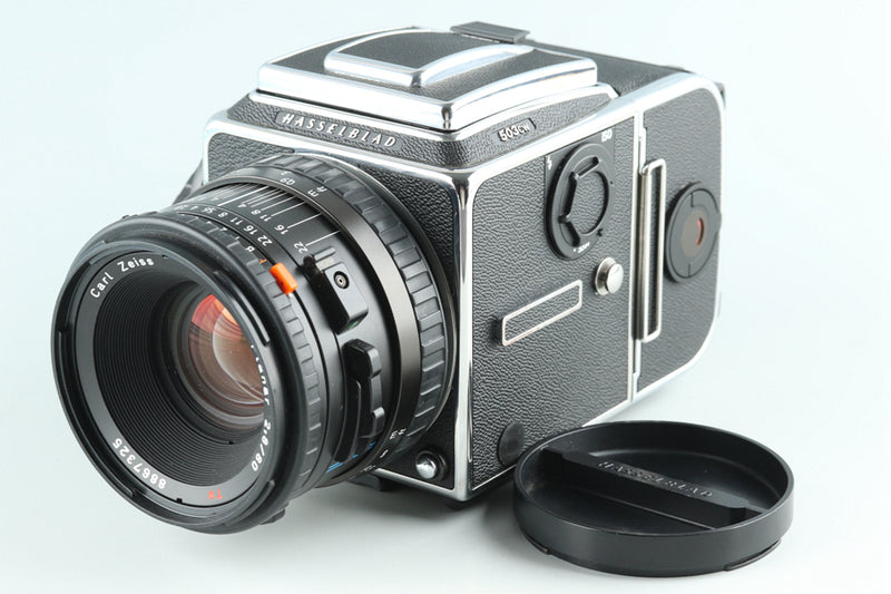 Hasselblad 503CW Medium Format Film Camera + 80mm F/2.8 CFE + A16 #27737E5