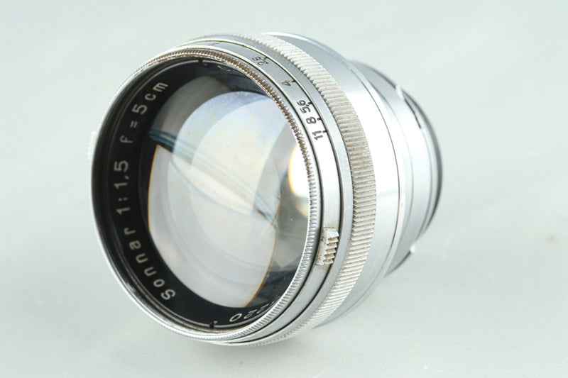 Carl Zeiss Jena Sonnar 50mm F/1.5 Lens for Contax RF #27749C2