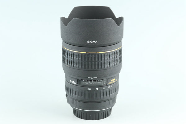 Sigma EX 15-30mm F/3.5-4.5 DG Lens for Canon #27757F6