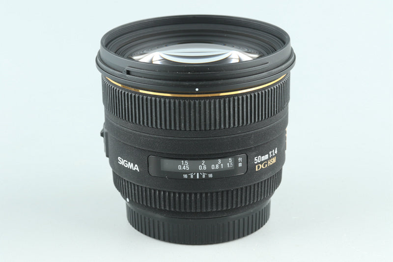 Sigma EX 50mm F/1.4 DG HSM Lens for Canon #27799H1