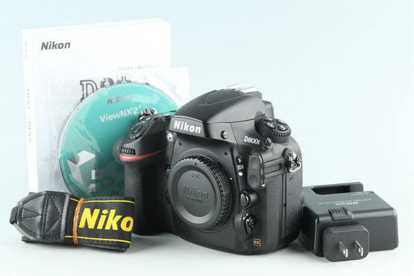 Nikon D800E Digital SLR Camera *Shutter Count 39028* #27820E5