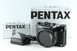 Pentax 67 TTL Medium Format SLR Film Camera With Box #27824