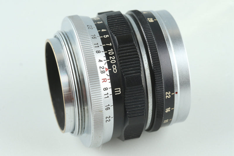 Fuji Fujinon L 50mm F/2.8 Lens for Leica L39 #27919C2