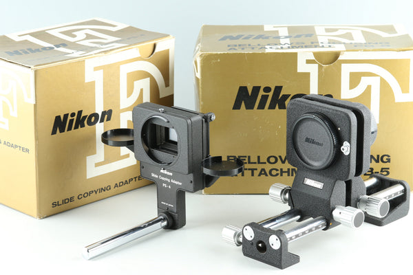 Nikon Bellows Focusing Attachment PB-5 + PS-4 With Box #27928L5