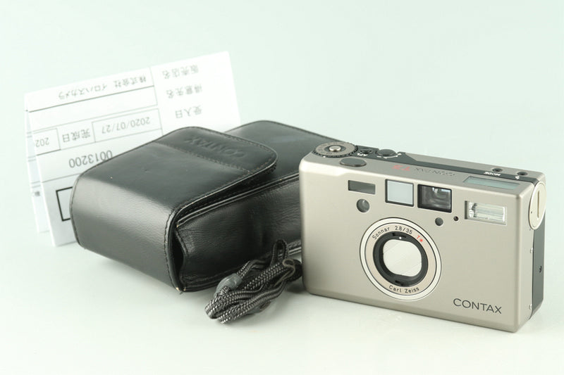 Contax T3D 35mm Point & Shoot Film Camera #27967D1