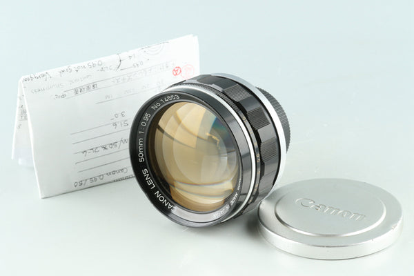 Canon 50mm F/0.95 Lens Modified to Leica M #27974F5