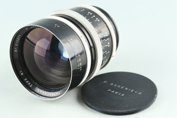 P.Angenieux Paris 35mm F/2.5 Retrofocus Type R1 Lens for Exakta Mount #27988C2