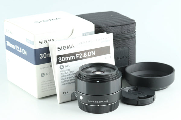 Sigma Art 30 mm f/2.8 DN Lens for Micro Four-Thirds #28116L9