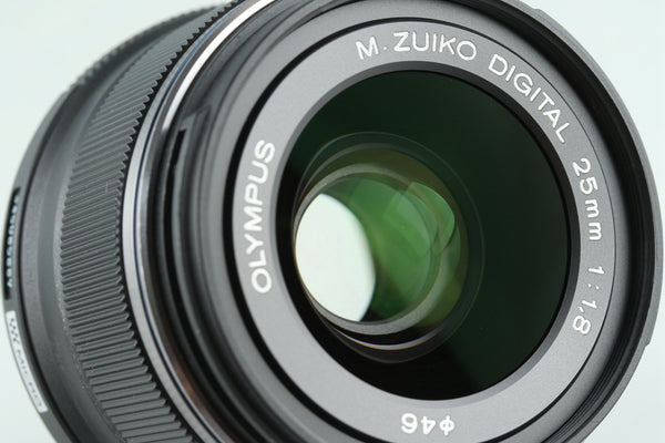 Olympus M.Zuiko Digital 25mm F/1.8 Lens for M4/3 With Box #28159L7