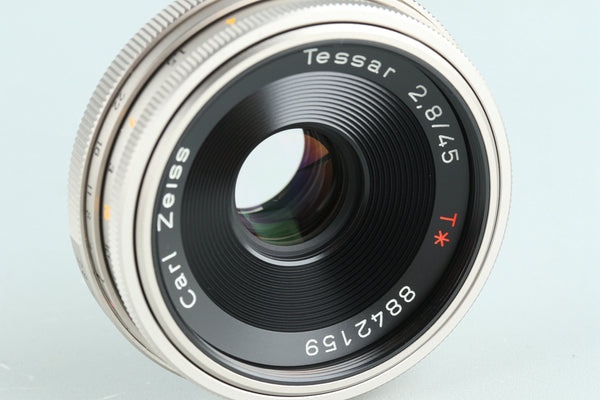 Contax Carl Zeiss Tessar T* 45mm F/2.8 Lens 100 Jahre MMJ for CY Mount #28183L8