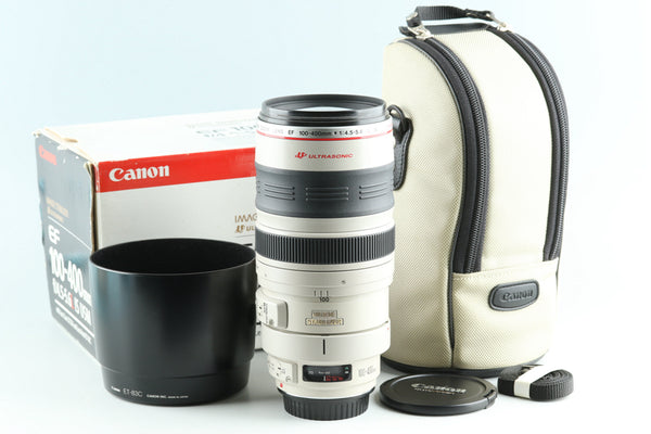 Canon EF 100-400mm F/4.5-5.6 L IS USM Lens With Box #28196L