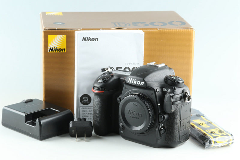 Nikon D500 Digital SLR Camera With Box *Shutter Count 121293* #28236L5